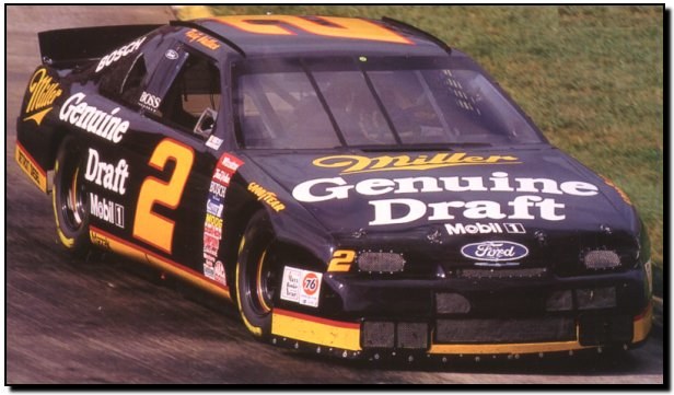 Rusty Wallace Ford >> #2 Miller Genuine Draft Ford